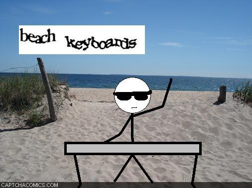 Beach Keyboards