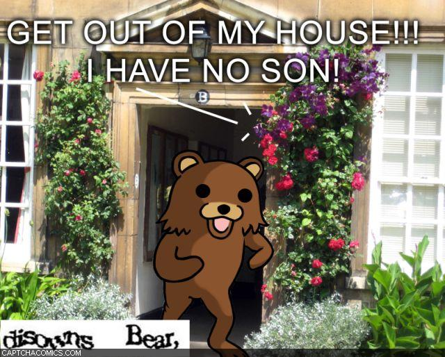 Disowns Bear