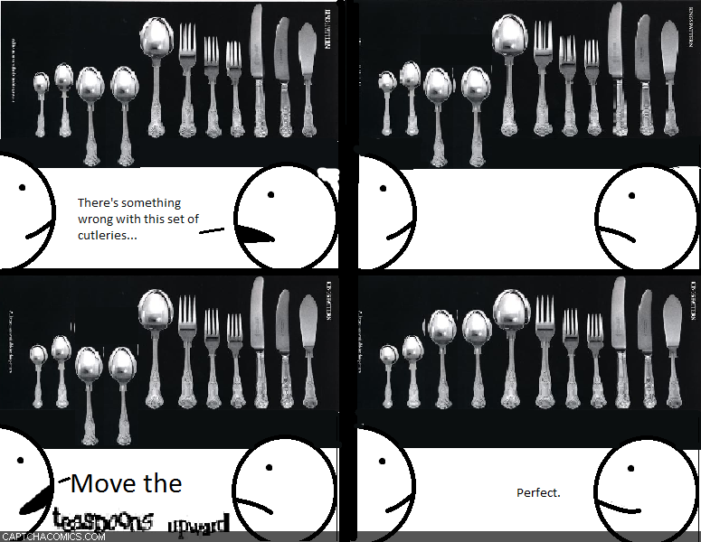 Teaspoons Upward