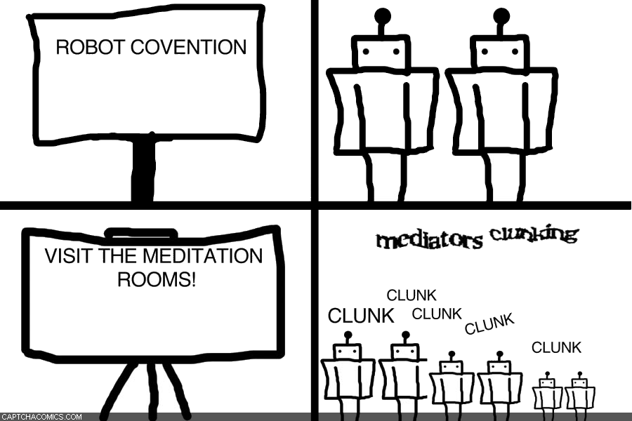 Mediators Clunking