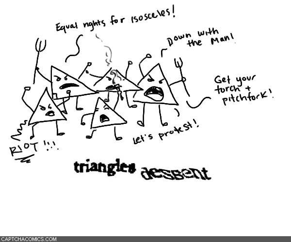 Triangles Dessent