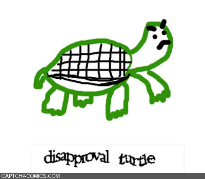 Disapproval Turtle