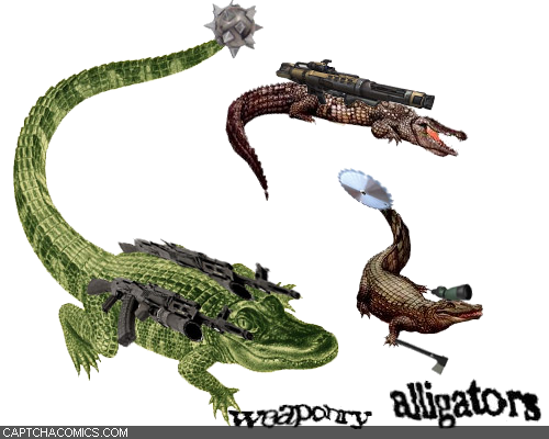 Weaponry Alligators