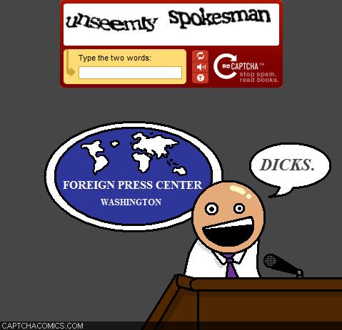 Unseemly Spokesman