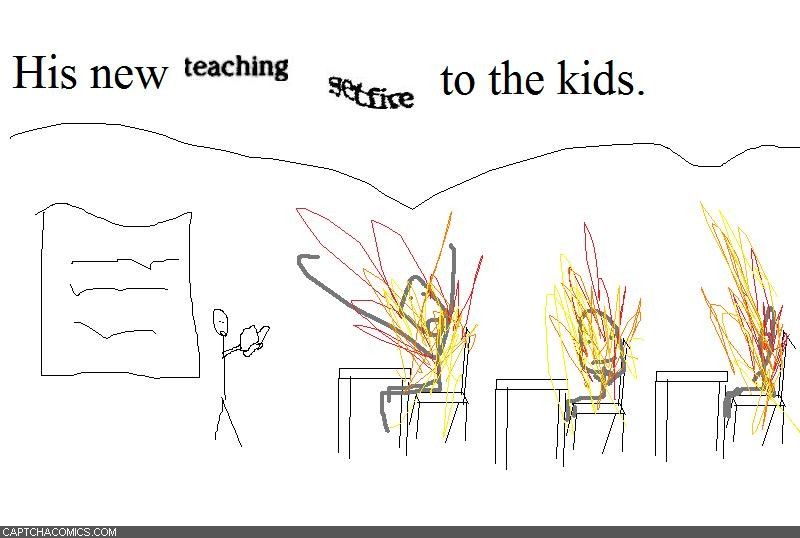Teaching Setfire
