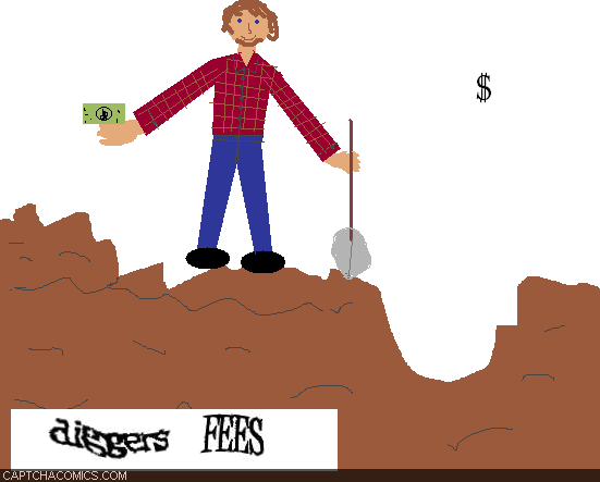 Diggers Fees