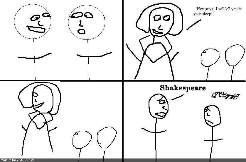 Shakespeare Creepie